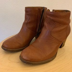 Madewell Brown Billie Ankle Boot